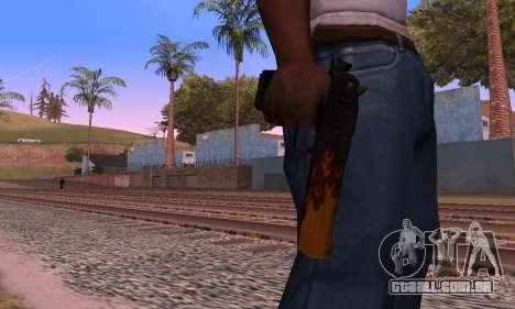 Deagle Flame para GTA San Andreas por diante tela