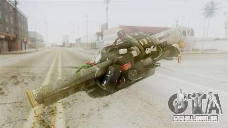 Ghostbuster Proton Gun para GTA San Andreas segunda tela