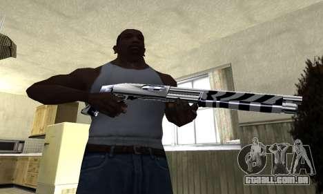 Black Lines Shotgun para GTA San Andreas