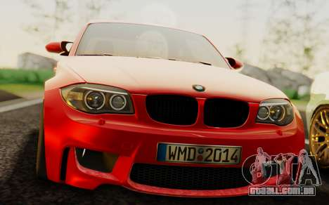 BMW 1M E82 para GTA San Andreas vista direita
