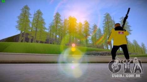Supr3me Skin para GTA San Andreas por diante tela