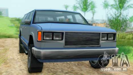4-door Yosemite para GTA San Andreas vista direita