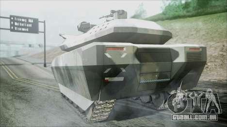 PL-01 Concept Camo para GTA San Andreas esquerda vista