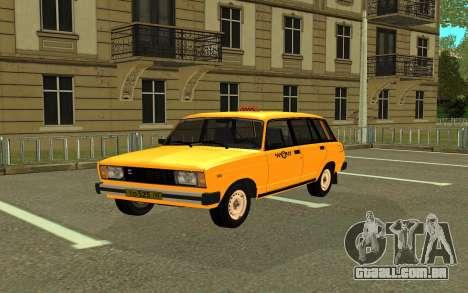 VAZ 2104 de Táxi para GTA San Andreas