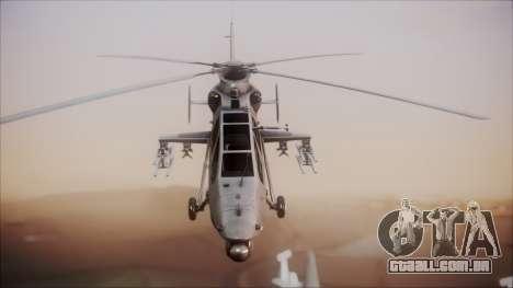 Harbin WZ-19 para GTA San Andreas vista direita