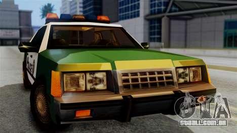 SAPD Cruiser para GTA San Andreas vista direita