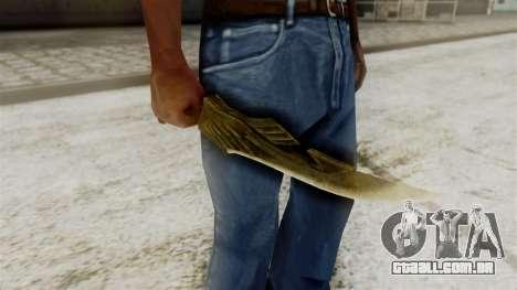 Elven Dagger para GTA San Andreas terceira tela