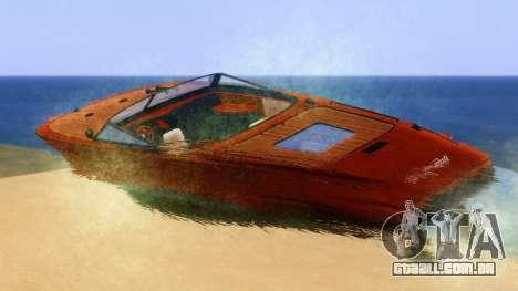Lampadati Toro para GTA San Andreas esquerda vista
