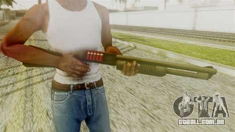 New Chromegun para GTA San Andreas terceira tela