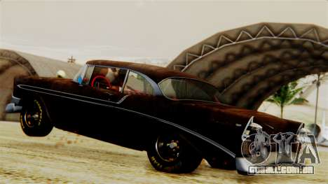 Chevrolet Bel Air 1956 Rat Rod Street para GTA San Andreas interior