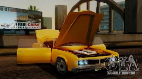 GTA 5 Albany Virgo IVF para GTA San Andreas vista traseira