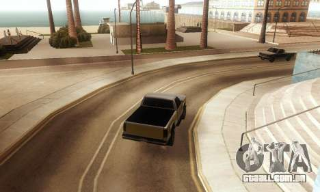 ENB & Colormod v 1.0 para GTA San Andreas por diante tela