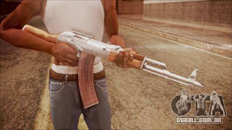 AK-47 v3 from Battlefield Hardline para GTA San Andreas terceira tela