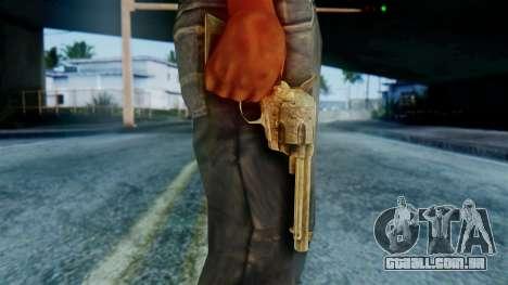 Red Dead Redemption Revolver Diego Assasin para GTA San Andreas terceira tela