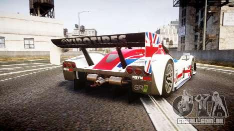 Radical SR8 RX 2011 [28] para GTA 4 traseira esquerda vista