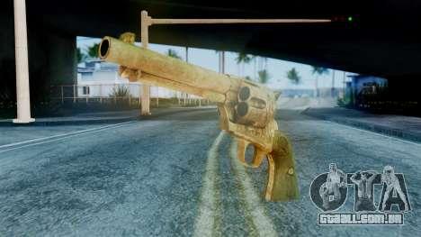 Red Dead Redemption Revolver Diego Assasin para GTA San Andreas