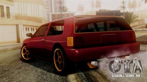 Flash New Edition para GTA San Andreas esquerda vista