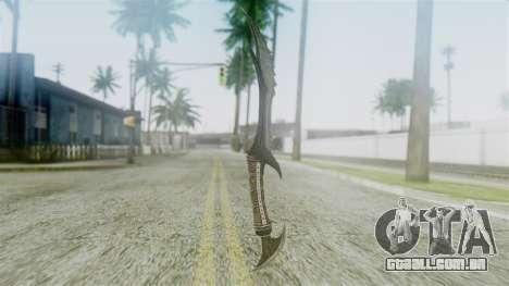 Deadric Dagger para GTA San Andreas segunda tela