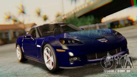 Chevrolet Corvette Sport para GTA San Andreas