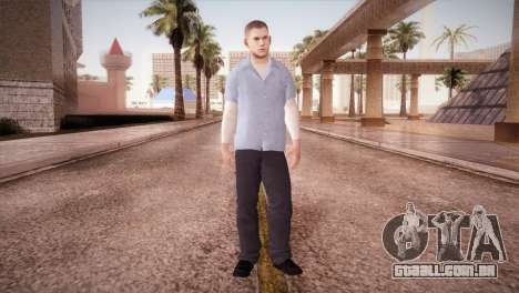 Michael Scofield Prisão formulário para GTA San Andreas segunda tela