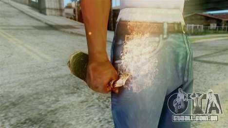 Red Dead Redemption Molotov para GTA San Andreas segunda tela