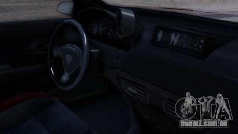 Benefactor Schwartzer Racecar para GTA San Andreas vista direita