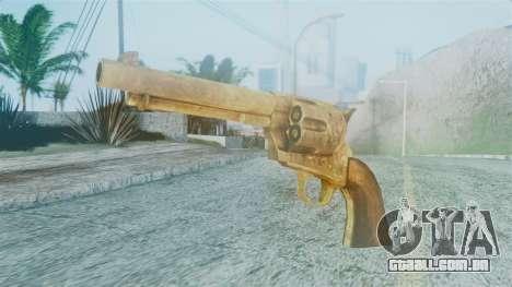 Red Dead Redemption Revolver Cattleman Diego v2 para GTA San Andreas