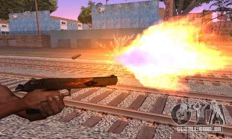 Deagle Flame para GTA San Andreas segunda tela