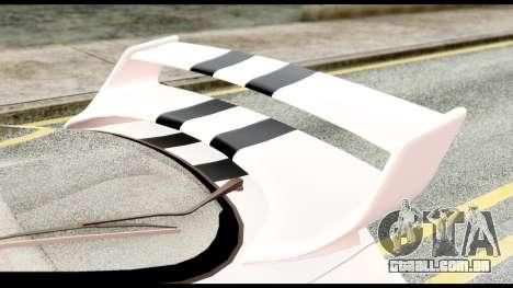 Toyota Supra Full Tuning v2 para GTA San Andreas vista traseira