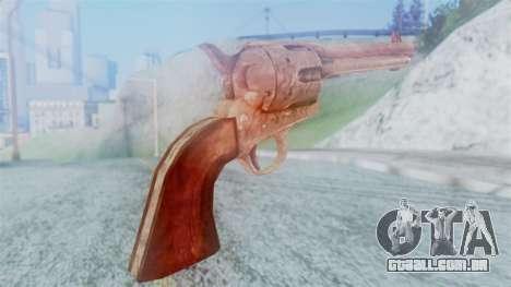 Red Dead Redemption Revolver Cattleman para GTA San Andreas segunda tela