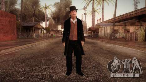 Dr. John Watson v1 para GTA San Andreas segunda tela