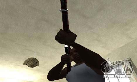 Snake Rifle para GTA San Andreas segunda tela
