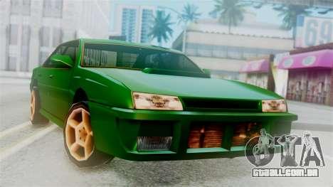 Sultan New Edition para GTA San Andreas