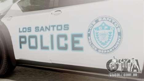 Hunter Citizen from Burnout Paradise Police LS para GTA San Andreas vista direita