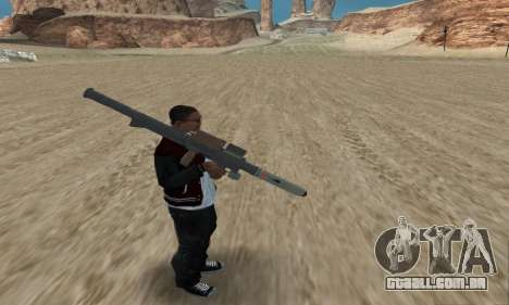 Homing Launcher from GTA 5 para GTA San Andreas