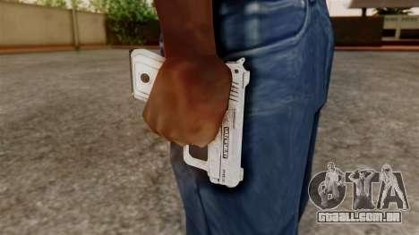 GTA 5 SNS Pistol para GTA San Andreas terceira tela