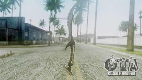 Deadric Dagger para GTA San Andreas