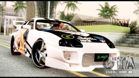 Toyota Supra Full Tuning v2 para GTA San Andreas