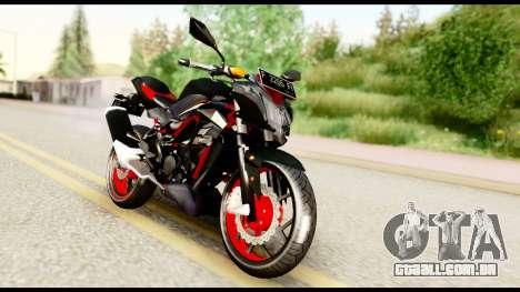 Kawasaki Z250SL Red para GTA San Andreas