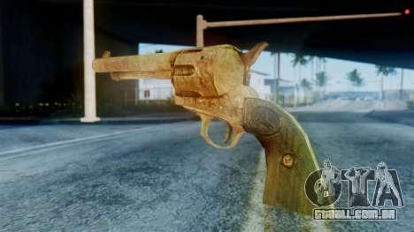 Red Dead Redemption Revolver para GTA San Andreas segunda tela