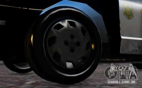 Ford Crown Victoria Sheriff para GTA San Andreas traseira esquerda vista