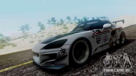 Honda S2000 Tuned Mugi Itasha para GTA San Andreas esquerda vista