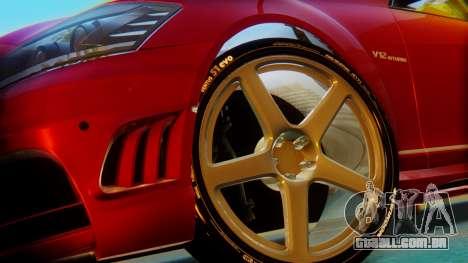 Mercedes-Benz S65 para GTA San Andreas traseira esquerda vista