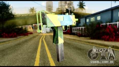 Brasileiro Micro Uzi para GTA San Andreas segunda tela