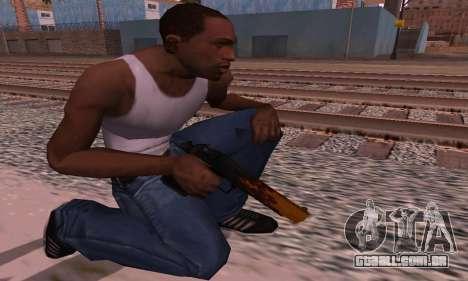 Deagle Flame para GTA San Andreas terceira tela