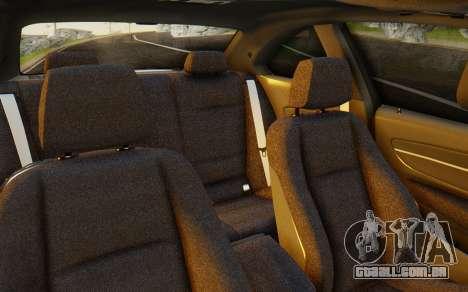 BMW 1M E82 para GTA San Andreas vista interior