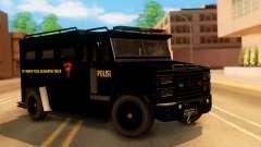 Sat Brimob Skin Enforcer from GTA 5 para GTA San Andreas