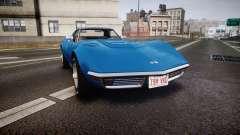 Chevrolet Corvette ZR1 1970 [EPM] para GTA 4