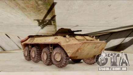 БТР-70 Ferrugem do S. T. A. L. K. E. R. para GTA San Andreas
