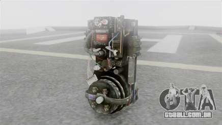 Ghostbuster Rucksack para GTA San Andreas